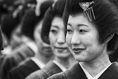 Japanese profiles (Feca Luca) Tags: portrait reportage japan woman blackwhite street asia nikon travel photographer culture