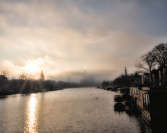One fine morning on the Amstel