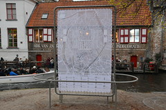 The ex-city of lace (johan van moorhem) Tags: belgium belgique belgië flanders vlaanderen westvlaanderen bruges brugge canal tourism toeristen bootjes lace kant