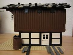 storehouse 3 (argo naut) Tags: 18th century harbour buildings marine british medieval napoleonic era jetty pier docks brethren brick seas lego corrington