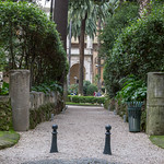 Der Eingang des Giardino di Palazzo Venezia thumbnail