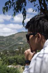 view (johnmoralesh) Tags: portrait retrato landscape paisaje colombia suesca thinking photography naturaleza nature nikon summer bluesky montaña