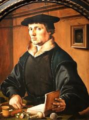 Maarten van Heemskerck. Portrait of a Husband, possibly Pieter Bicker. 1529 (arthistory390) Tags: rijksmuseum