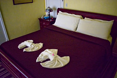 Clewiston Inn, 108 Royal Palm Avenue, Clewiston, Florida, USA /  Built: 1938 / Architectural Style: Classical Revival / Added NRHP: 1991 (Photographer South Florida) Tags: bed bedroom towels clewiston city cityscape urban downtown skyline hendrycounty florida centralbusinessdistrict building architecture commercialproperty cosmopolitan metro metropolitan smallcity sunshinestate realestate lakeokeechobee lakeokeechobeescenictrail atlanticcoastalplain historical southbank street clewistoninn 108royalpalmavenue usa 1938 classicalrevival addednrhp1991 historicsite