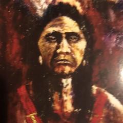 552 (Cheryl Gaer Barlow) Tags: painting western warrior art impressionistic