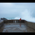Breakwater at Biarritz thumbnail