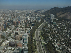 "View from Sky Costanera at the top of ""Gran Torre Santiago"" (tlhayward1) Tags: santiago metropolitana chile"