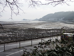 Misty Mumbles (vw4y) Tags: swanseabay mumbles grey misty deserted seascape wales