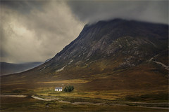 Solitude(Scotland) (williamwalton001) Tags: pentaxcamera pentaxart scotland stone sky colourimage clouds cottage water weather pinnaclephotography