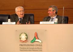 Ricordo di Giuseppe Zamberletti (Dipartimento Protezione Civile) Tags: zamberletti protezionecivile dpc dipartimentoprotezionecivile borrelli