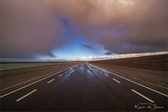 Middle of the road! (karindebruin) Tags: brouwersdam nederlands ouddorp thenetherlands zuidholland beach clouds duines dunes sand sea storm strand wind wolken zand zee