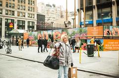 Wavy lady (Eddie K. Photo) Tags: new york city manhattan street photograpy