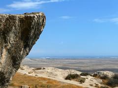 Gobustan petroglyphs (LeelooDallas) Tags: asia europe azerbaijan gobustann petroglyph engraving art landscape desert dana iwachow dragoman overland silk road trip september 2018 rock