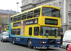 Dublin Bus RV575 (99D575). (Fred Dean Jnr) Tags: april2005 dublin dublinbus busathacliath dublinbusyellowbluelivery volvo olympian alexander r dublinbusroute7 rv575 99d575 collegegreendublin dbrook