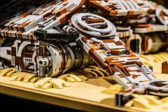 Rey's Home - Details (speedyhead79) Tags: lego starwars moc theforceawakens afol rey jakku bb8 atat