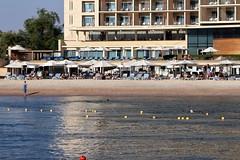 Jordan Aqaba (rolfij) Tags: jordan aqaba kempinski hotel beach sand water people redsea