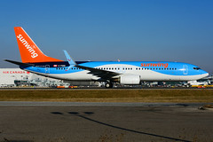 C-FQWK (Sunwing - TUIfly) (Steelhead 2010) Tags: sunwingairlines thomsonairways tuifly boeing b737 b737800 creg cfqwk yyz