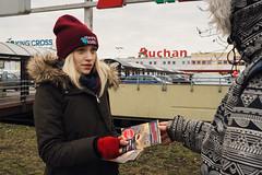 Auchan Warszawa1.d (Otwarte Klatki) Tags: aktywizm karpie streetwork