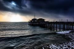 "Santa Monica Pier (El-Branden Brazil) Tags: ""los angeles"" la ""venice beach"" ""santa monica"" california usa ""the united states"" america beach sea sunset pier"