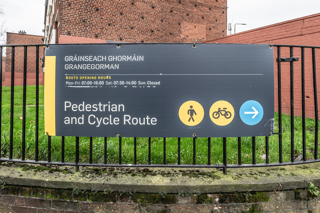 LIMITED ACCESS TO THE GRANGEGORMAN CAMPUS EAST-WEST CYCLE PATH [GRANGEGORMAN STATION AND LUAS TRAM STOP]-147387