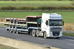 Y6 MTL (panmanstan) Tags: daf xf wagon truck lorry commercial stepframe freight transport haulage vehicle m62 motorway sandholme yorkshire
