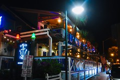 Flagler Tavern - New Smyrna Beach, Florida (stevelamb007) Tags: flaglertavern streetscene night florida newsmyrnabeach restaurant tavern nikon d7200 stevelamb