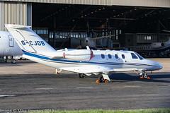 G-CJDB - 2007 build Cessna 525 Citation Jet CJ1, visiting East Midlands (egcc) Tags: 5250648 bizjet breedaircraft cj1 castledonington ce525 cessna cessna525 citation citationjet egnx ema eastmidlands gcjdb lightroom n5152x