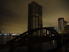 Tokyo (Meg Kamiya) Tags: tokyo japan night light colour city olympus omd em10 bridge