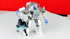 Mr. Freeze armor / mech suit (bricksfeeder) Tags: dccomics dc armor mechsuit mech creation moc gotham asylum arkham mrfreeze legobatman batman lego