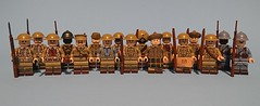 WW1 Group Brothers in arms (KPFR5Q2XZXQW774THJOIGWTBCI) Tags: ww1 tommy british scottish highlanders french greatwar remembrance lego trench smle soldier