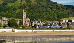 Burntisland (Beardy Vulcan II) Tags: scotland summer september 2017 burntisland fife hill church town seaside coast resort railway train scotrail beach