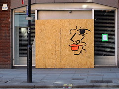 Chancery Face (failing_angel) Tags: 280718 london londonboroughofcamden farringdon annalaurini graffiti chancerylane