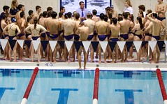 Swim team (stephencharlesjames) Tags: swimming college sports pool sport ncaa middlebury vermont water trunks