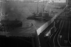 (blazedelacroix) Tags: slussen stockholm blazedelacroix blackandwhite mono sea crowd eos 500d street escape thecure canon reflections
