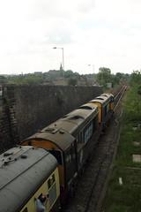20305+20308 Horrocksford Junction, Clitheroe, Lancashire (Paul Emma) Tags: uk england railtour choppertopper 37419 20305 20308 railway railroad clitheroe lancashire horrocksfordjunction