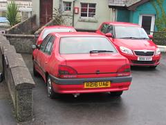 Any Colour Car You Like, As Long As It Is Red! (Andrew 2.8i) Tags: classic classics carspotting spotted spotting street car cars streetspotting french saloon sedan 18sr sr 18 306 peugeot uk unitedkingdom