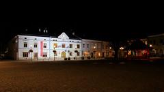 Night in Krosno (1) (Krzysztof D.) Tags: shiftn architecture architektura krosno podkarpacie podkarpackie subcarpathia karpatenvorland rynek marketsquare marketplace night noc nacht polska poland polen