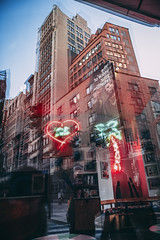 I Love You So Much (Mandy Lou Who) Tags: approved reflections neon lights nyc new york city buildings manhattan