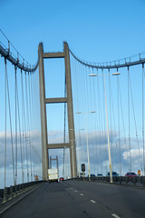 DSC_3005 North Lincolnshire England The Humber Suspension Bridge over the Humber River (photographer695) Tags: north lincolnshire england the humber suspension bridge over river