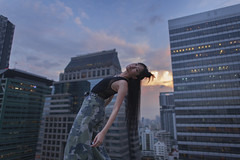 (Rob Chiu) Tags: hodyyim hongkong bangkok thailand asia model rooftop sunset dusk nikon nikkor nikond850 shoot iconoclast 24mm14