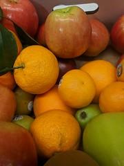 December 7: Work Orange (earthdog) Tags: 2018 googlepixel pixel androidapp moblog cameraphone work office food edible fruit orange apple project365 3652018