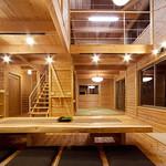 1週間で完成する天然無垢木材の住宅キットの写真