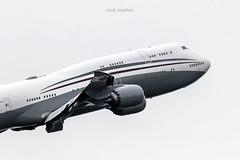 Boeing 747-8KB(BBJ) A7-HBJ Qatar Amiri Flight (msd_aviation) Tags: boeing 747 b747 jumbo 747800 qatar amiri flight bcn lebl barcelona el prat airport aviation pics avporn planespotting spotters spotting queenoftheskies qataramiriflight a7hbj