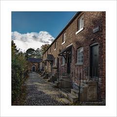Oak Cottages 8 - 14 (prendergasttony) Tags: cheshire nikon d7200 houses buildings terrace nationaltrust nt history
