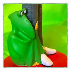 Pee Wee's Pterodactyl (Timothy Valentine) Tags: 2018 pterodactyl bobblehead home macromonday green 1118 peeweeherman eastbridgewater massachusetts unitedstates us