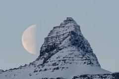 The Moon at noon today (*Jonina*) Tags: iceland ísland faskrudsfjordur fáskrúðsfjörður moon tunglið mountains fjöll vaðhorn jónínaguðrúnóskarsdóttir 500views 50faves 1000views