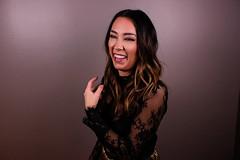 Dani (FlypaperPx) Tags: fujifilm pretty woman candid smile laugh lace
