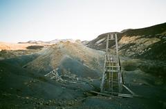 Coso Mine (Shutter Theory) Tags: mine old coso shaft headframe cosorange desert highdesert mojavedesert californiadesert oldmine owensvalley film filmphotography filmisnotdead fujicolorc200 fujifilm fujicolor analogue 35mm