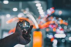Follow the Lights (ibtihajtafheem) Tags: lensflare lensball lensballphotography bokeh bokehbliss bokehlife light lights closeup night