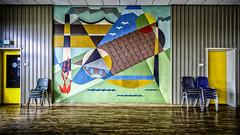 Mess Hall (Pieter de Knijff) Tags: tile tiles factory mess hall colour color holland netherlands dutch woerden urban exploring urbex